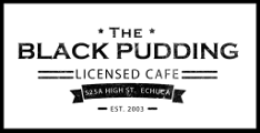black pudding logo