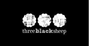 three black sheep logo